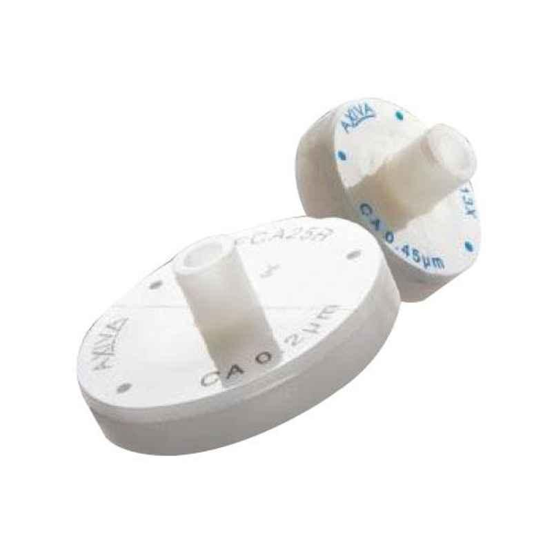 Axiva 13mm Cellulose Acetate Non Sterile Syringe Filter, SFCA13XB (Pack of 100)