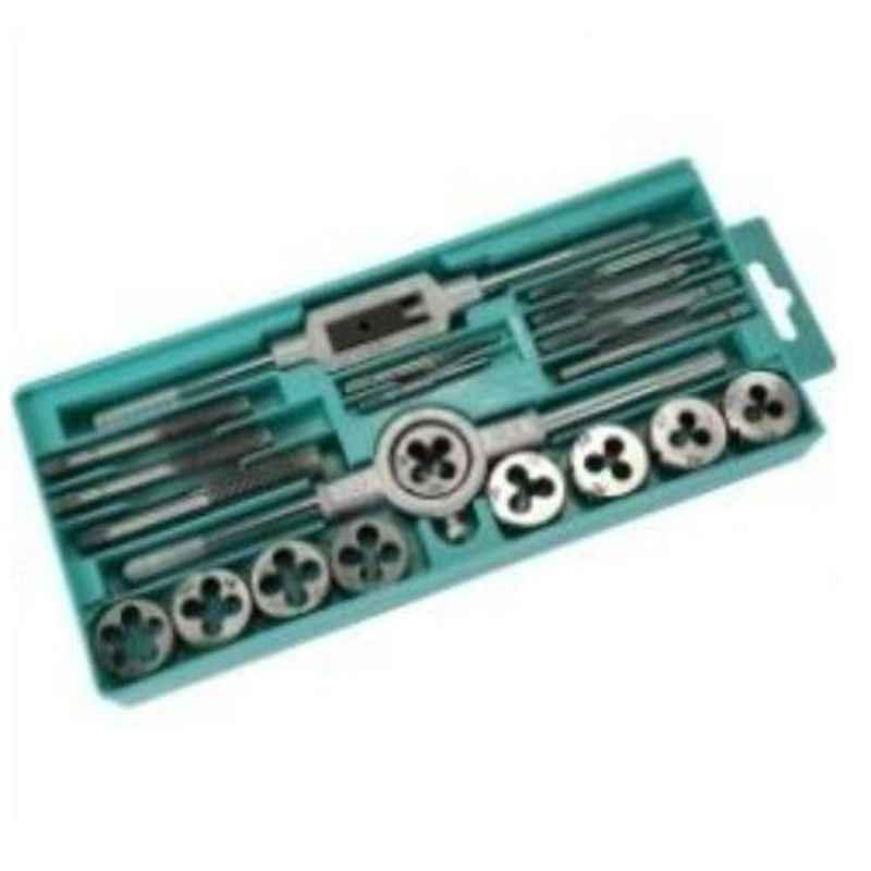GSK Cut M3-M12 20 Pcs Metric Tap & Die Thread Tool Set