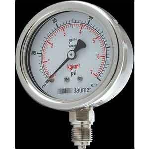 Baumer Pressure Gauge (Pressure Range- 2.5 to 70 kg/cm2 , Dial Size- 63 mm) AD-C2-2BM