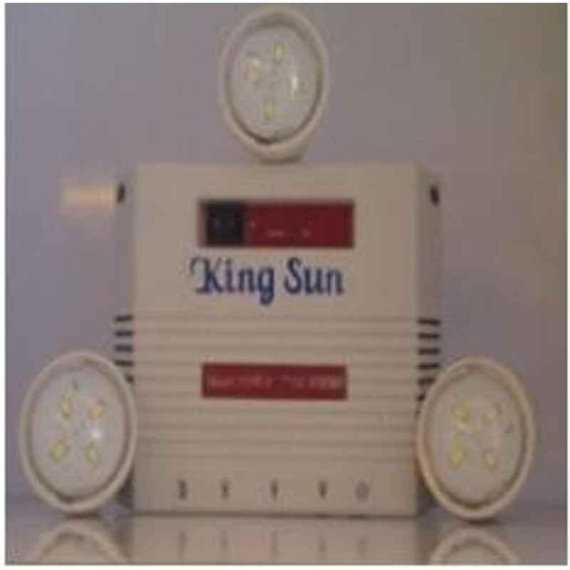 King Sun Solar Home Lighting System 5 Watt 6V Model No KSSHL-09
