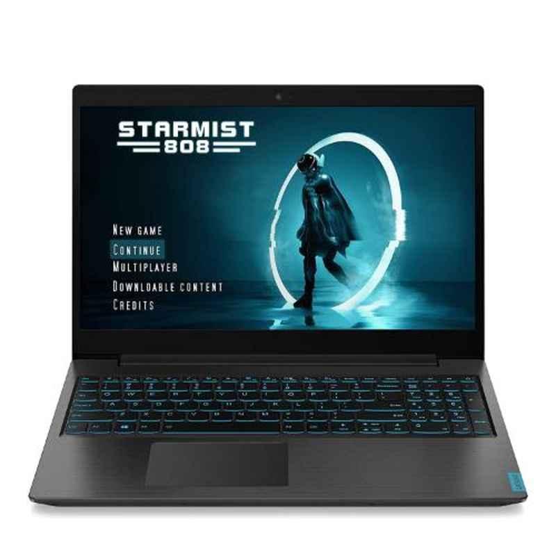 Lenovo Ideapad L340 9th Gen i5/8GB RAM/512GB SSD/Windows 10/4GB GTX 1650 Graphics/15.6 inch FHD IPS Display Black Gaming Laptop, 81LK00NRIN