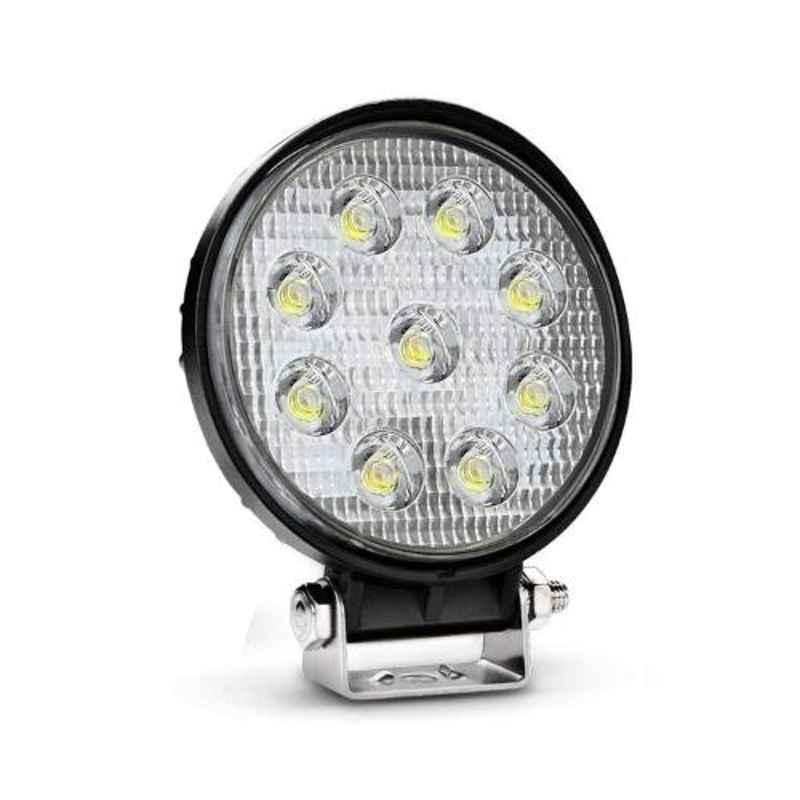 Love4ride 27W 9 LED Flood Beam Auxiliary LED Lamp for Car & Bike