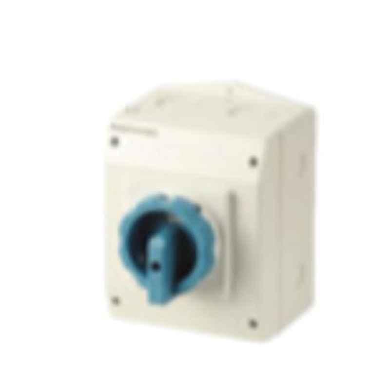 Socomec COMO 4 Pole 100A Enclosed Load Break Switch, 21154309G