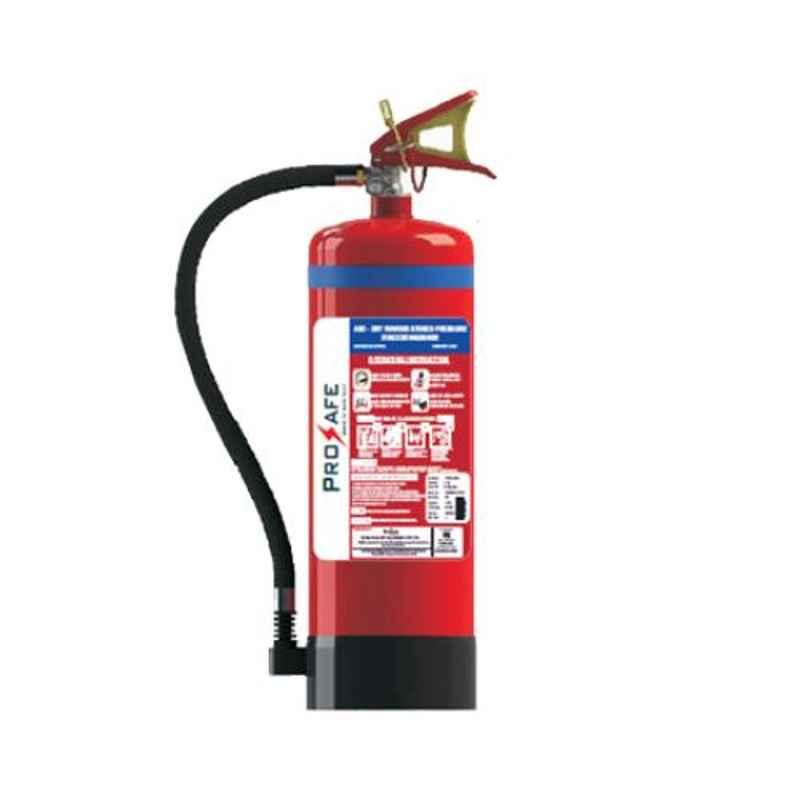 Prosafe 9kg ABC Stored Pressured MAP 50% Fire Extinguisher with ISI Mark