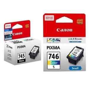 Canon Pixma PG-745S Black & CL-746S Colour Ink Cartridge Combo