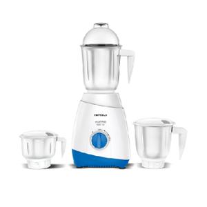 Havells Aspro 600W White & Blue Juicer Mixer Grinder with 3 Jars