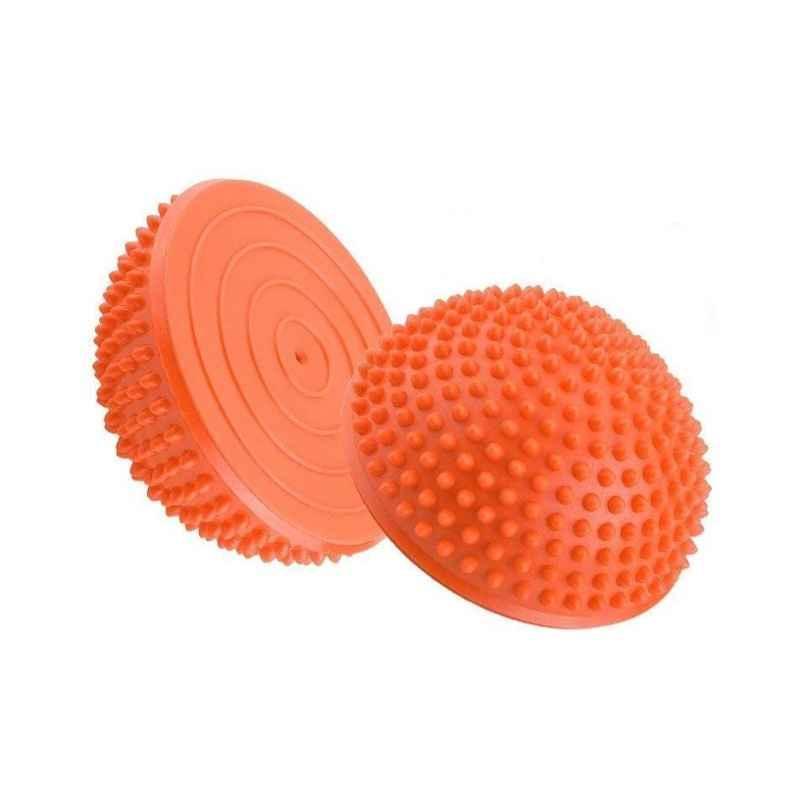 Strauss Orange PVC Hedgehog Balance Trainer, ST-1314