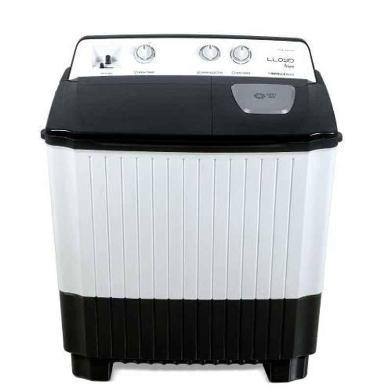 Lloyd Prism 7kg Grey Semi Automatic Top Load Washing Machine, LWMS70GM2