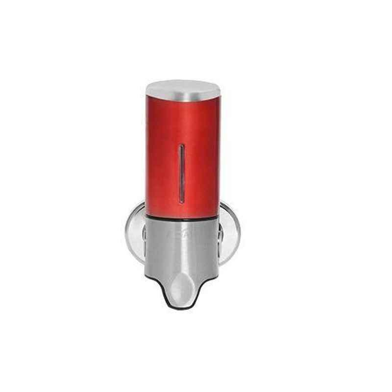 Bharat Photon 500ml Wall Mounted Polycarbonate ABS Romantic & Staid Manual Dispenser, BP-MSA-131
