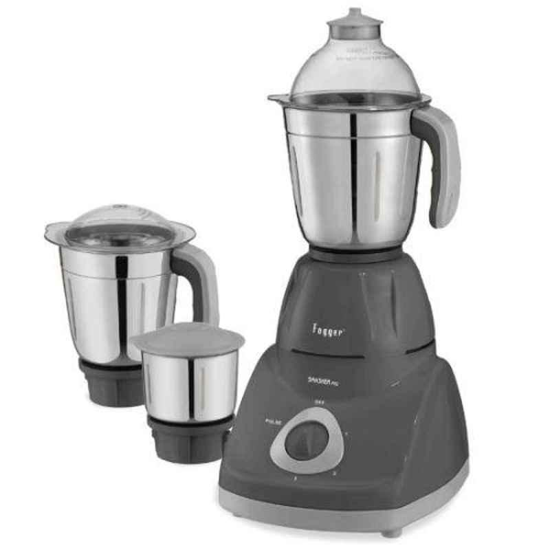 Fogger Smasher Pro 750W Gray Mixer Grinder with 3 Jars