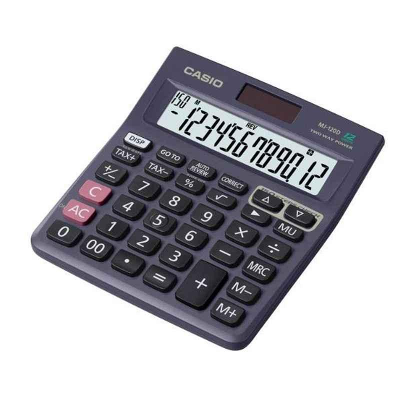 Casio MJ-120D 12 Digit Basic Desktop Calaculator