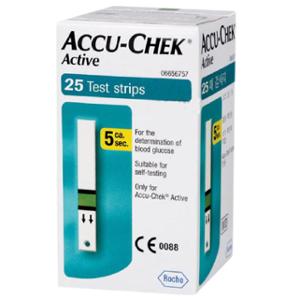 Accu-Chek Active Test Strips (25 Strips)