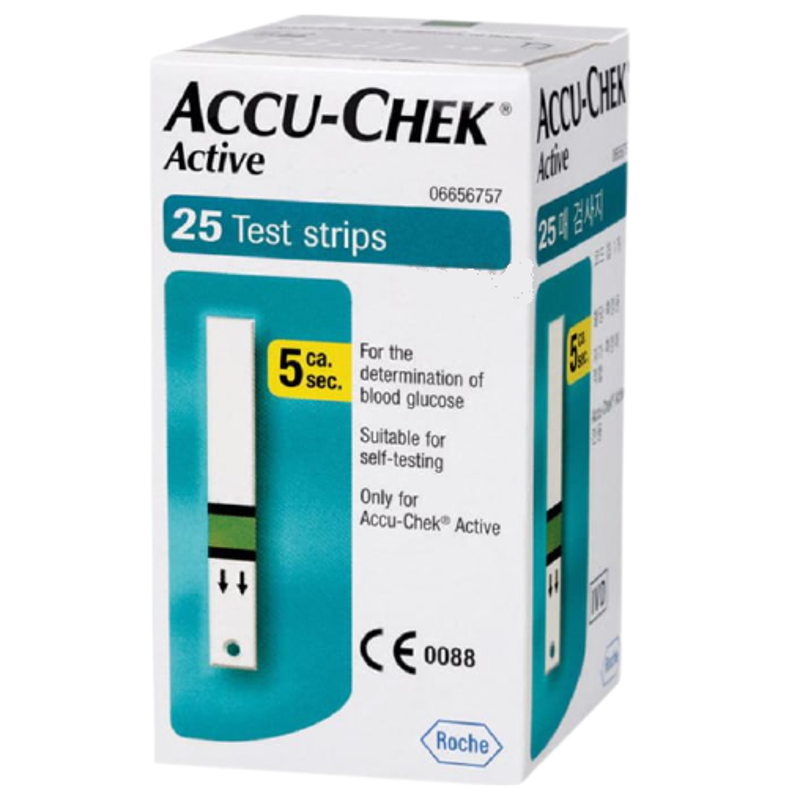 Accu-Chek Active Test Strips (25 Strips)