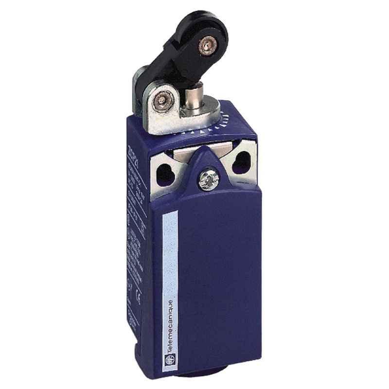 Schneider OsiSense XC 2 Pole 1NO+1NC Plunger Head Limit Switch, XCKP2121G11