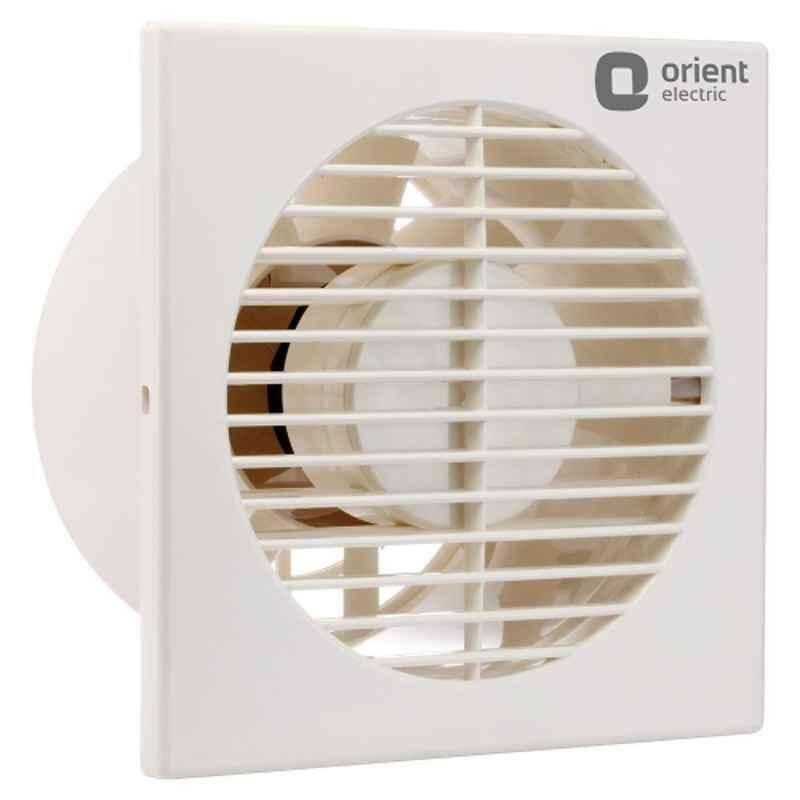 Orient Smart Air 6 Inch Ventilation Fan, Sweep: 150 mm, Colour: Ivory