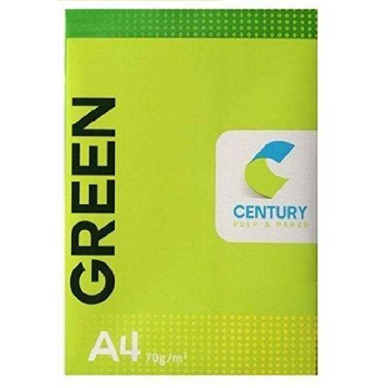 Century Green A4 Size 70 GSM Copier Paper (Pack of 5)