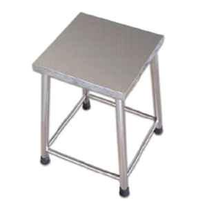 Acme 300x300x500mm Stainless Steel Visitor Stool, Acme-2057