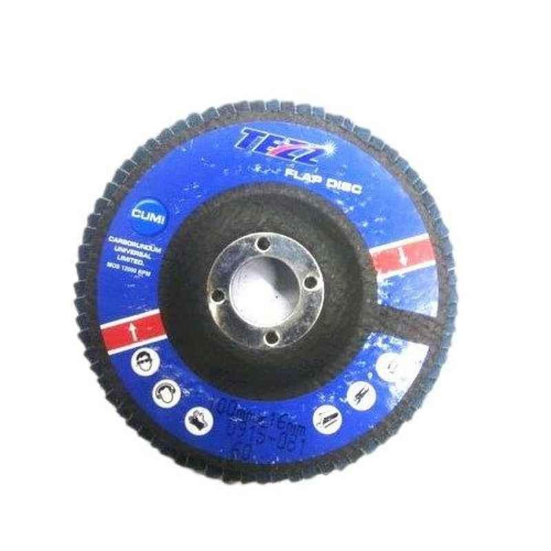 Cumi Tezz 60 Grit 125mm Tezz Flap Disc