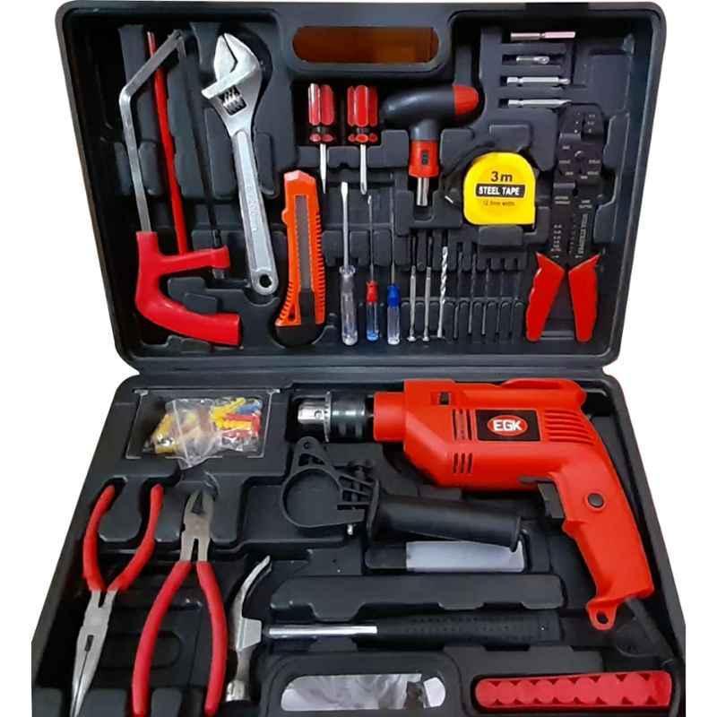 EGK 550W 121 Pcs Multipurpose Reversible Power Tool Kit, EGK13IDTK