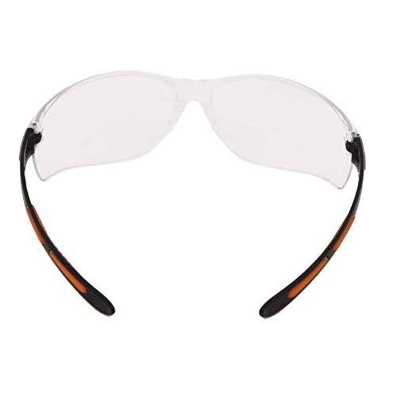 Black & Decker UV Protected Wrap Around Safety Spectacle with Inbuild Beveled Edges, BXPE0505IN