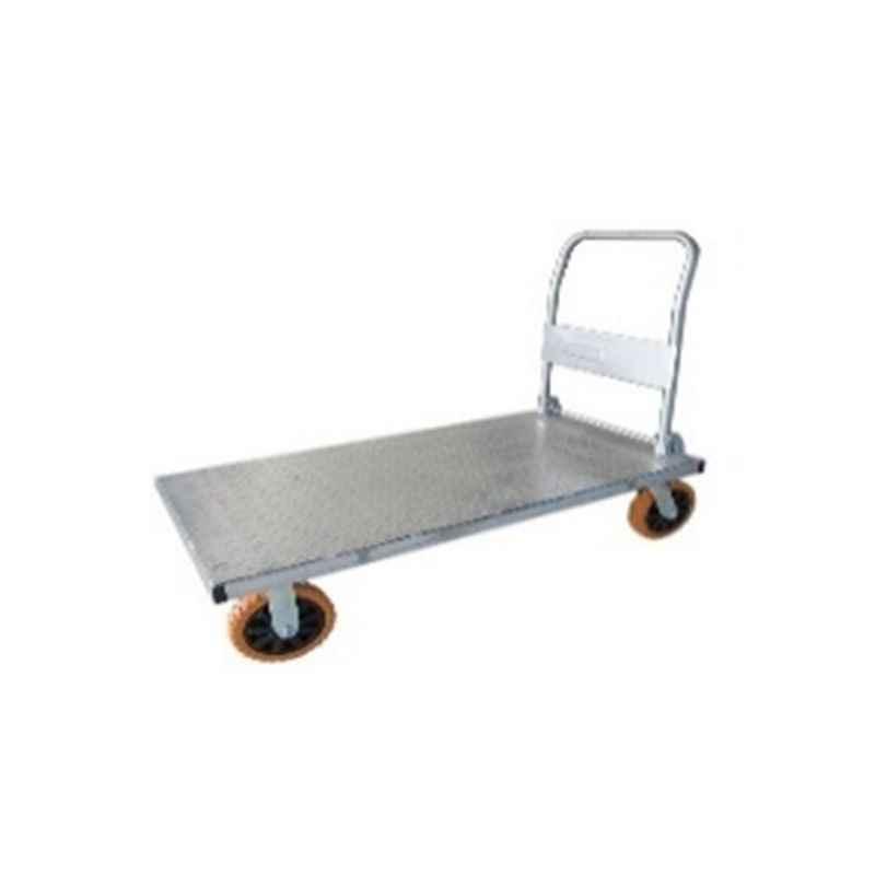 Bigapple 700kg Capacity Silver Iron Trolley, TRL SPH IT 700
