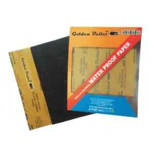 Golden Bullet Waterproof 1200 Grit Black Sanding Paper, Size: 230x280mm (Pack of 50)