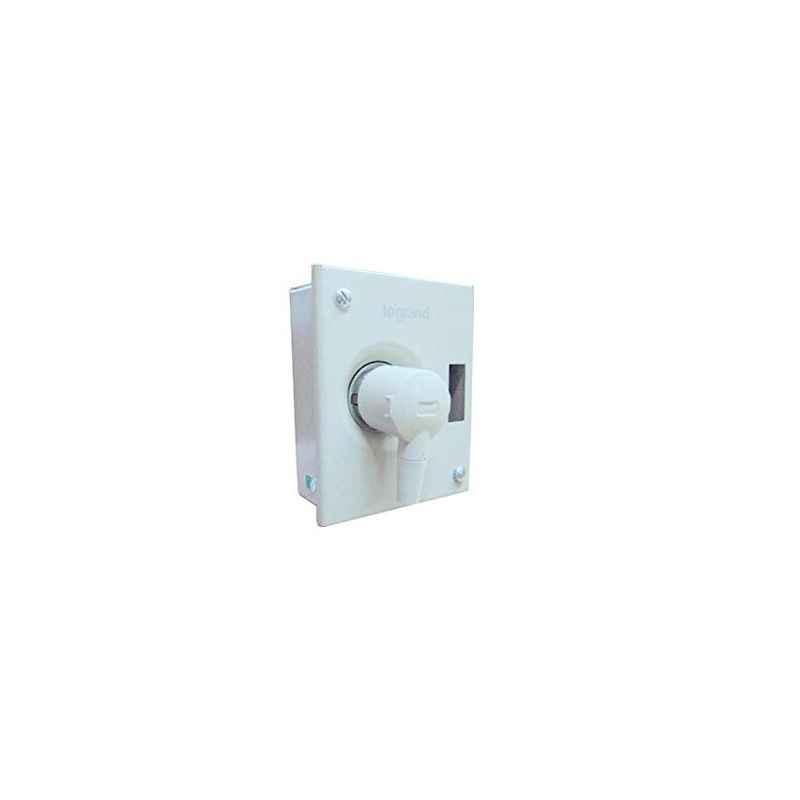 Legrand 20A 1 Module Double Pole 2P+E Ekinox3 Metra Plug & Socket DB, 5078 14