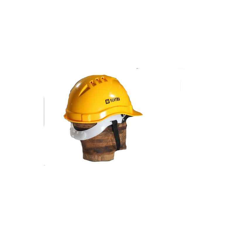 Ventra Safety Helmet, LD Yellow (Pack of 5)