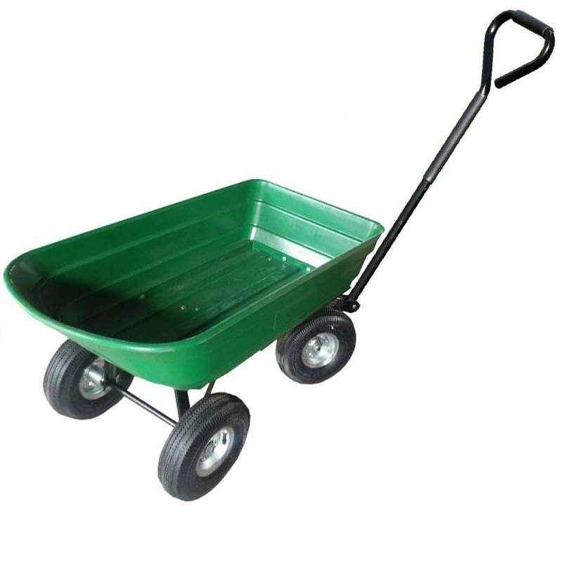 Bigapple Premium Quality Green Dump Cart, TC-2145, Load Capacity: 250 kg