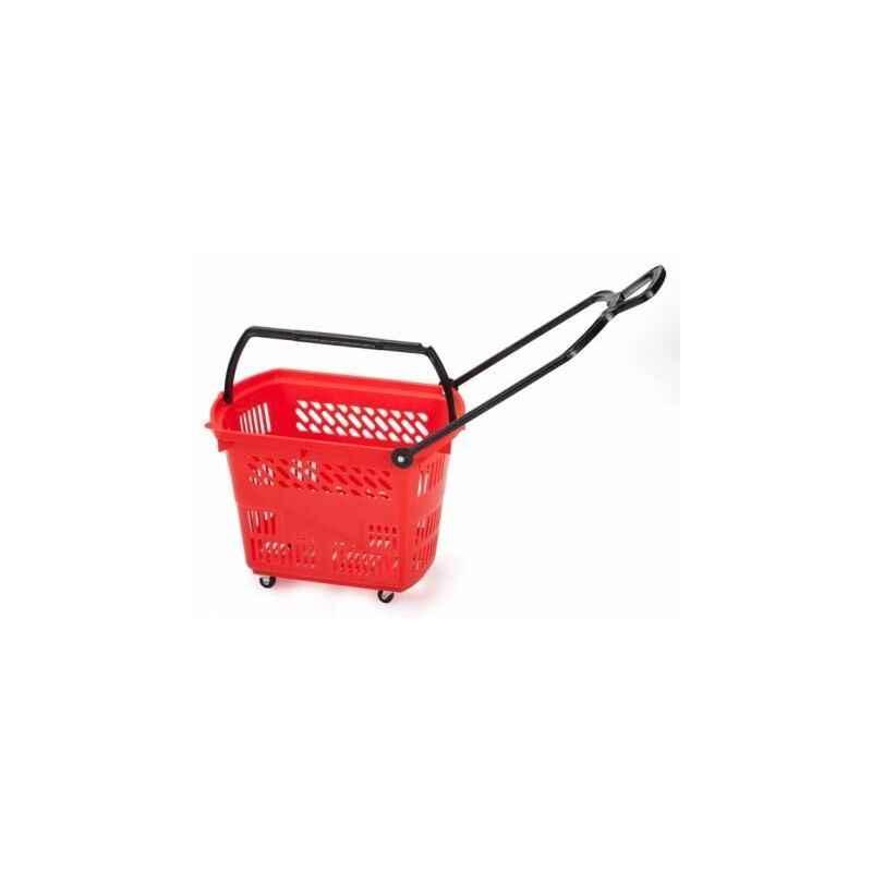Bigapple 30L Capacity Plastic Shopping Basket, BA-Basket-30L