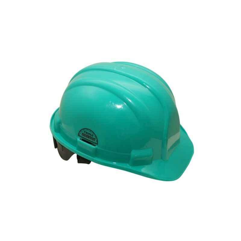 Prima Green Ratchet Safety Helmet, PSH-03