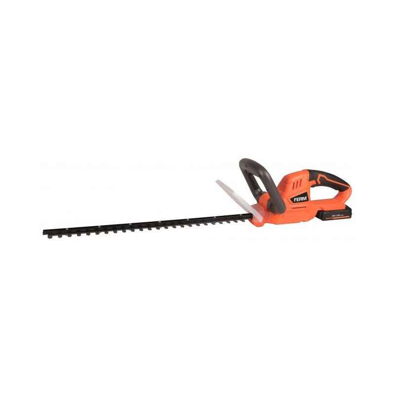 Ferm 580mm Cordless Hedge Cutter & Trimmer with Battery, HTM1002