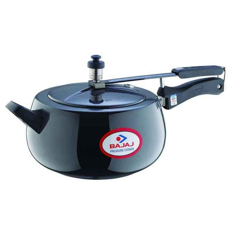 Bajaj 5 Litre Majesty PCX 65H Black Pressure Cooker