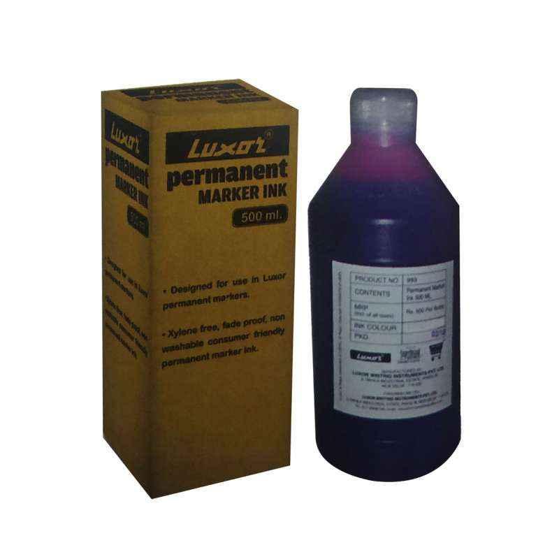 Luxor 500ml 993 Black Permanent Marker Ink