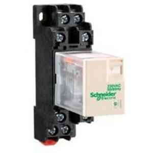 Schneider 3A 12VDC Plug in Miniature Relay , RXM4LB1JD