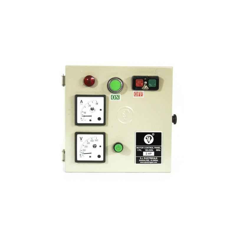SJ MJ1 9-14A Single Phase Motor Control Panel, P52