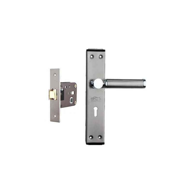 Plaza Crystal Stainless Steel Finish Handle with 200mm Baby Latch Keyless Lock