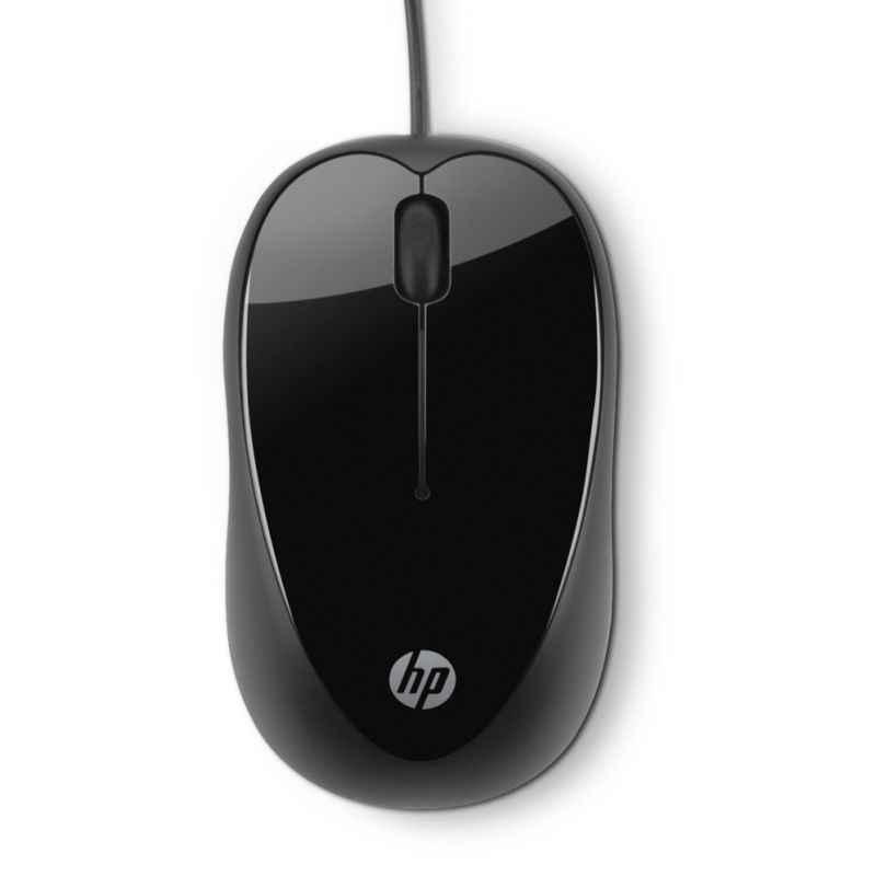 HP X1000 Black USB Mouse