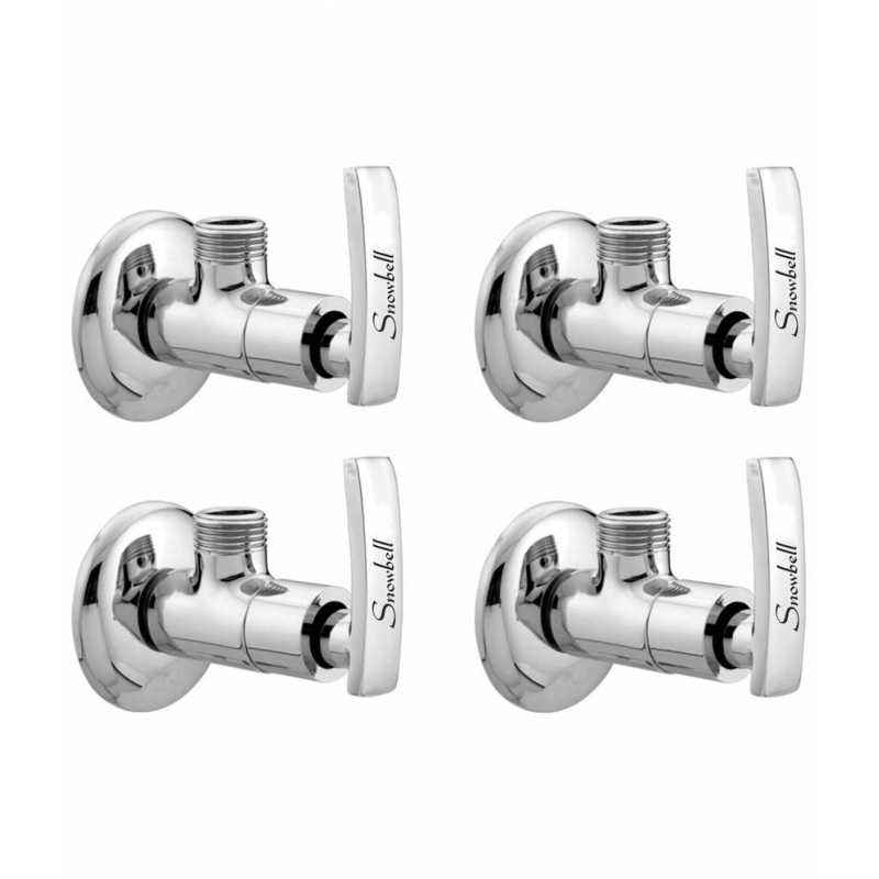 Snowbell Artize Brass Angle Faucet (Pack of 4)