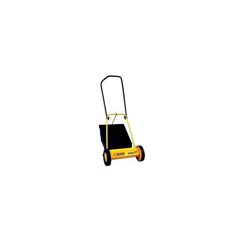 Falcon Manual Lawn Mower with 3 height adjustments, Easy-38