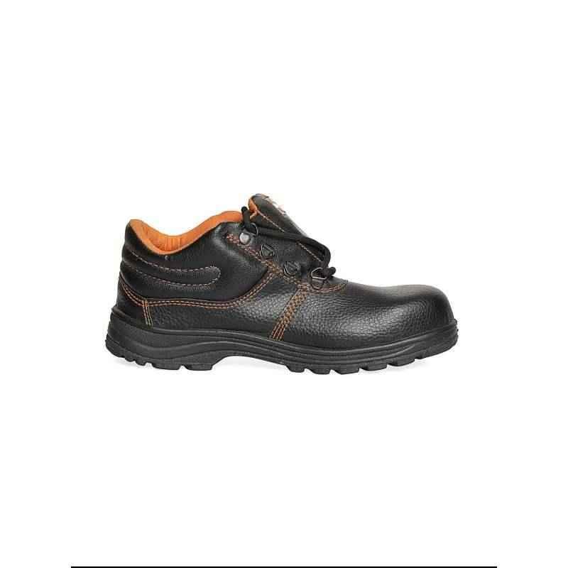 Safari Pro Richmond Black Steel Toe Labour Safety Shoes Size: 10