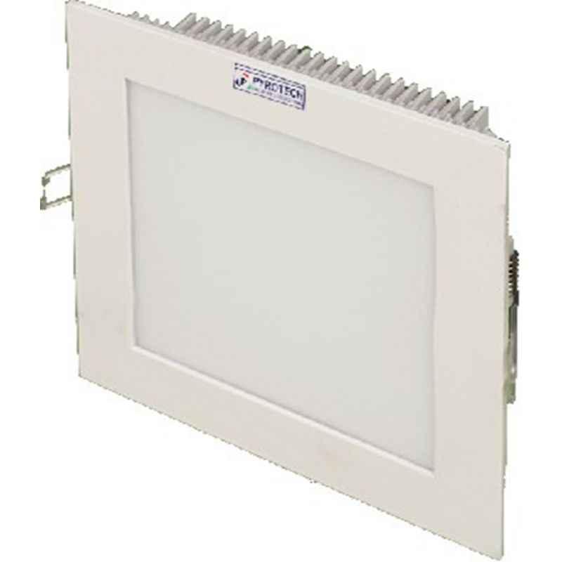 Pyrotech 3W Cool White Square LED Flat Panel Light, PE13DLW3OB