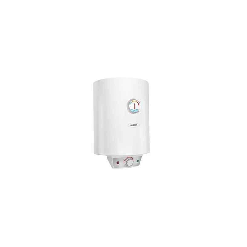 Havells 25 Litre 5S White Monza EC Storage Water Heater, GHWAMFSWH025