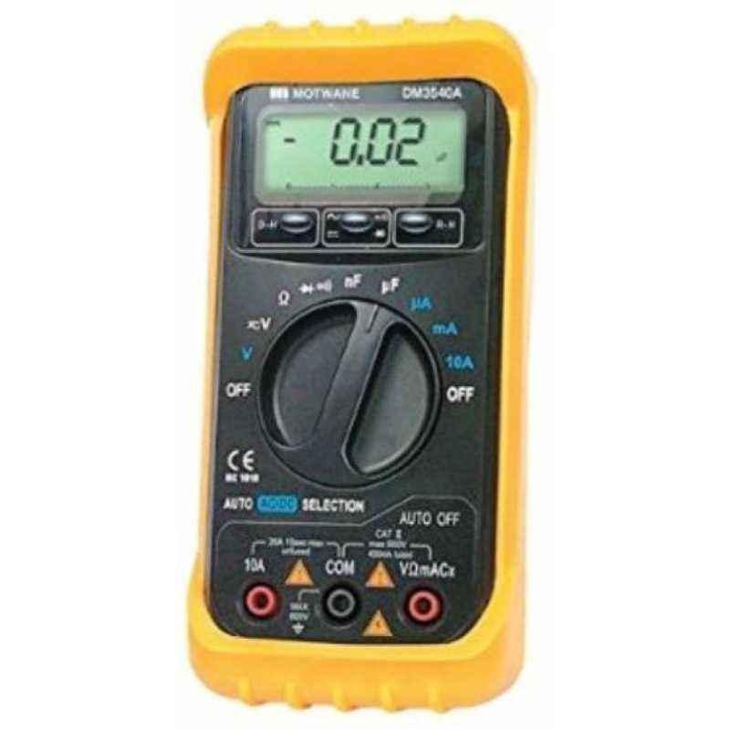 Motwane Digital Multimeter, DM3540A with Test Certificate