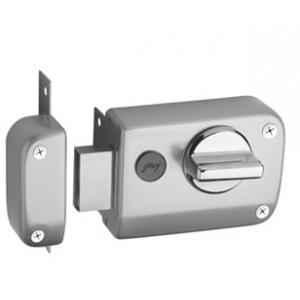Godrej Ultra XL+ Rim Deadbolt 1 CK Satin Nickel Rim Lock, 6078