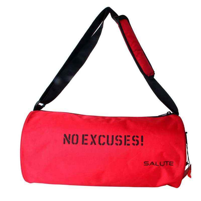 Salute Trendy 18 Litre Red Polyester Duffel Bag