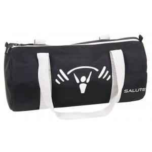 Salute Hunk Black Polyester Duffel Bag