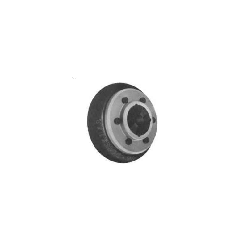 Lovejoy B Type RST Tyre Flex Spacer Coupling Without Taper Bush, Size: TO-10, Spacer Length: 140 mm