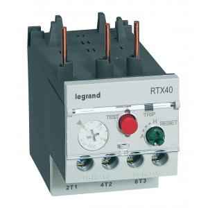Legrand 3 Pole Contactors RTX³ 40 Integrated Auxiliary Contacts 1 NO + 1 NC, 4166 68