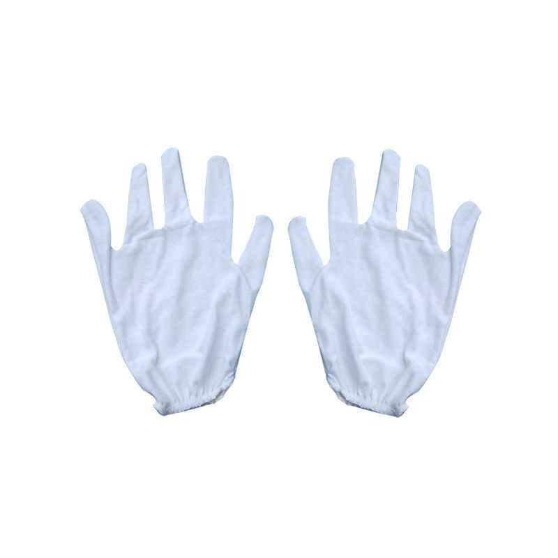 Khushi Single Layer Banian Hosiery Hand Gloves (Pack of 100)